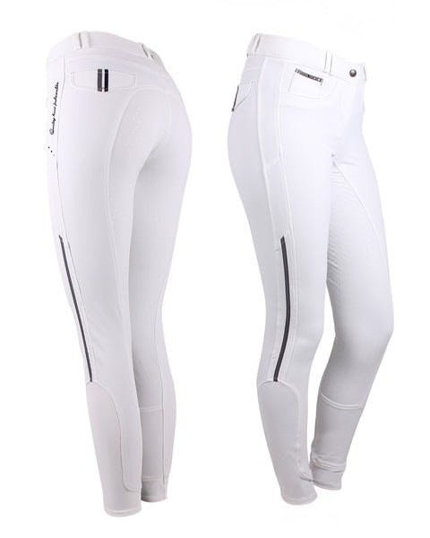 Coco breeches in Midnight white