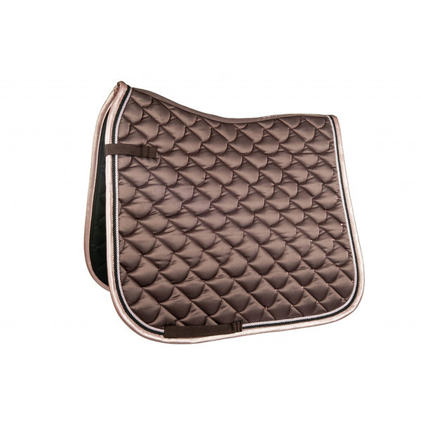 HKM Copper Kiss Saddle Pad Pony Mocha