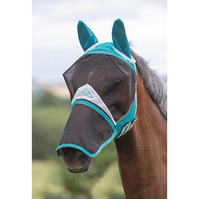 Fly Mask with Detachable Nose