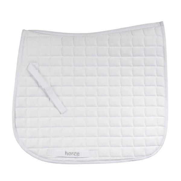 Cob / Pony Size Dressage Saddlepad White
