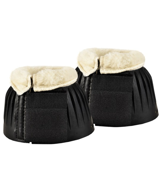 Bell Boots with fleece pony and cob size