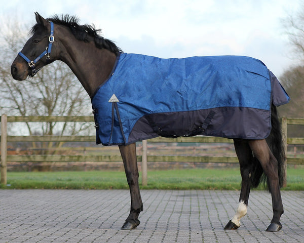 Pony turnout blanket in blue