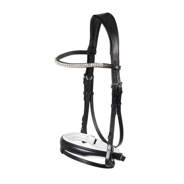 Horze Rohan Snaffle Bridle Cob and Pony Size