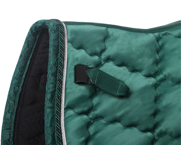 Sevilla AP Saddle Pad emerald QHP