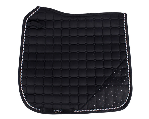 Sparkle Saddle Pad Black