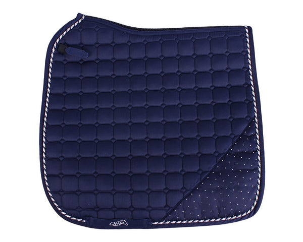 Sparkle Saddle Pad Navy