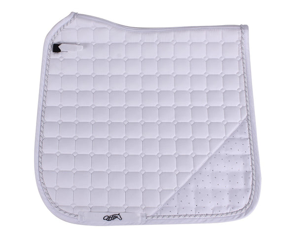 Sparkle Saddle Pad White