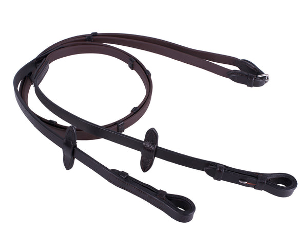 Biothane reins brown pony size