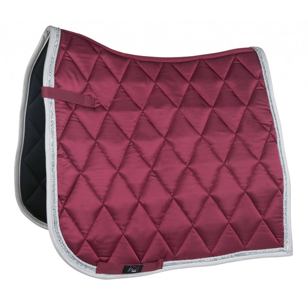 Bella Pony Size Saddle Pad Wine Red