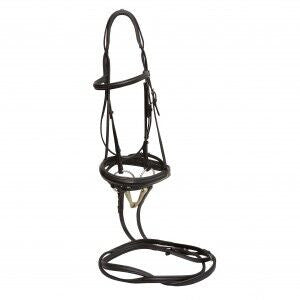 Thinline Snaffle Bridle Cob and Pony Size