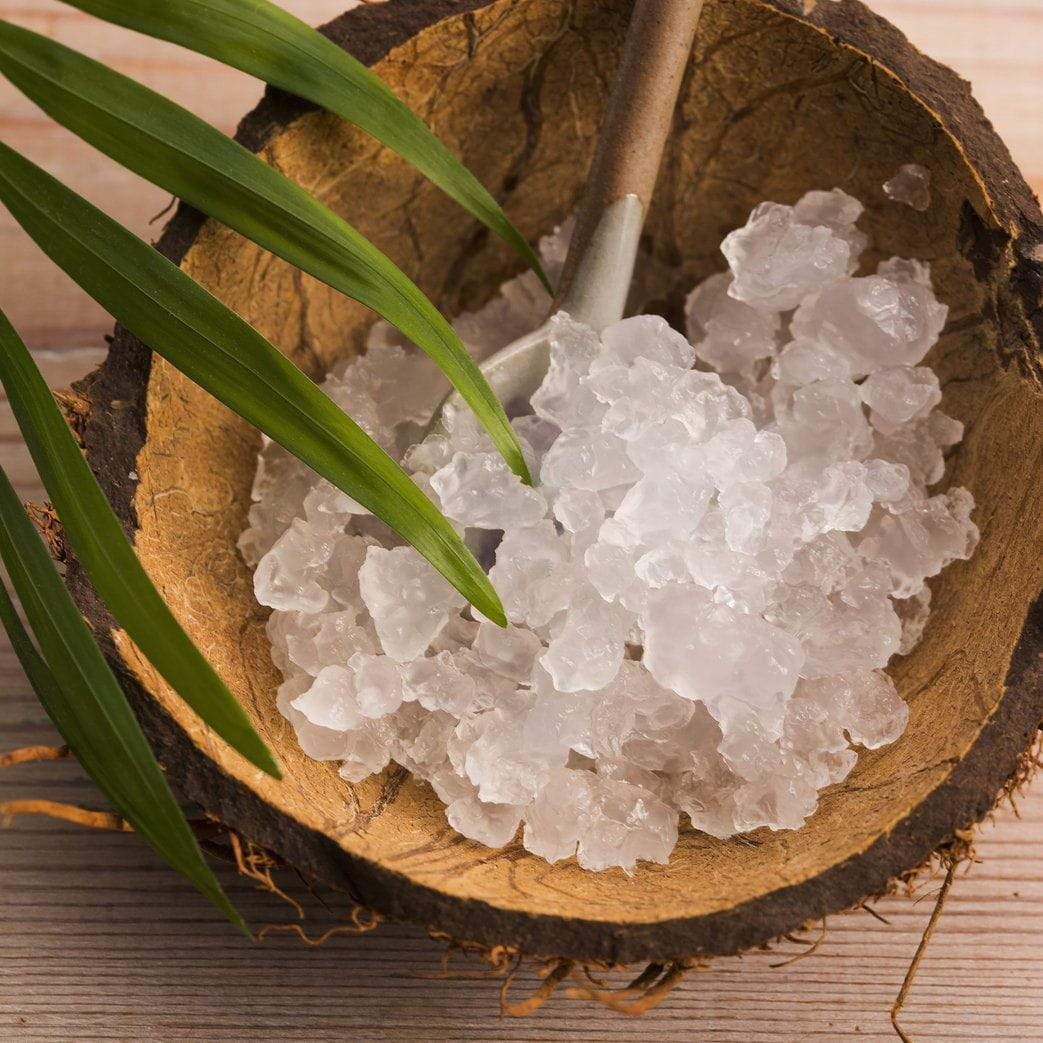 Water Kefir Grains in Coconut