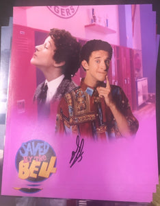 "DUSTIN DIAMOND ""SCREECH"" SIGNED 8X10 PHOTO"
