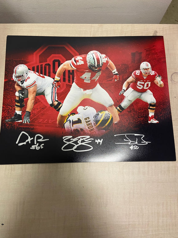 11x14 signed BOREN BROTHERS photo - signed by all 3 brothers