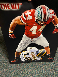 ZACH BOREN SIGNED 16X20 PHOTO WITH F... MICHIGAN
