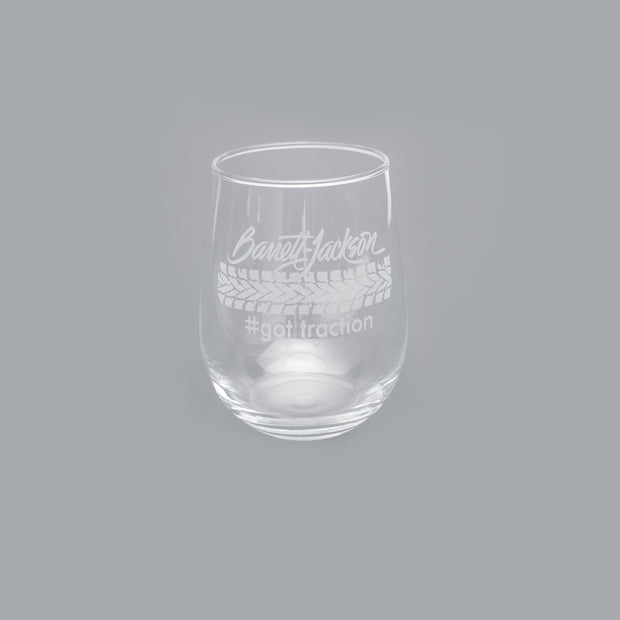 Tracks Wine Glass
