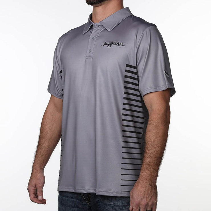 Side Stripe Polo