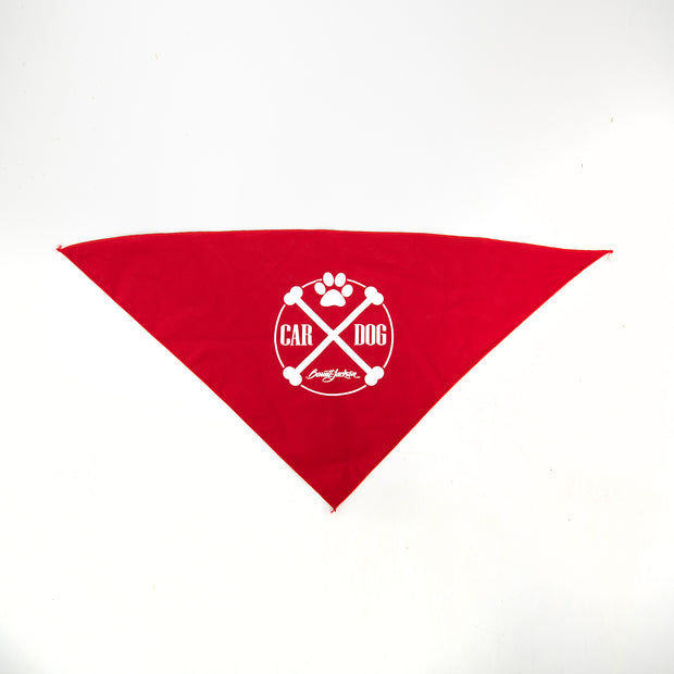 DOG BANDANA RED