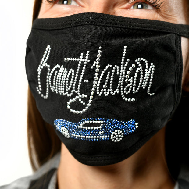 Women's BLING MASK BLUE