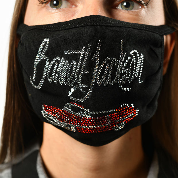 Women's BLING MASK RED