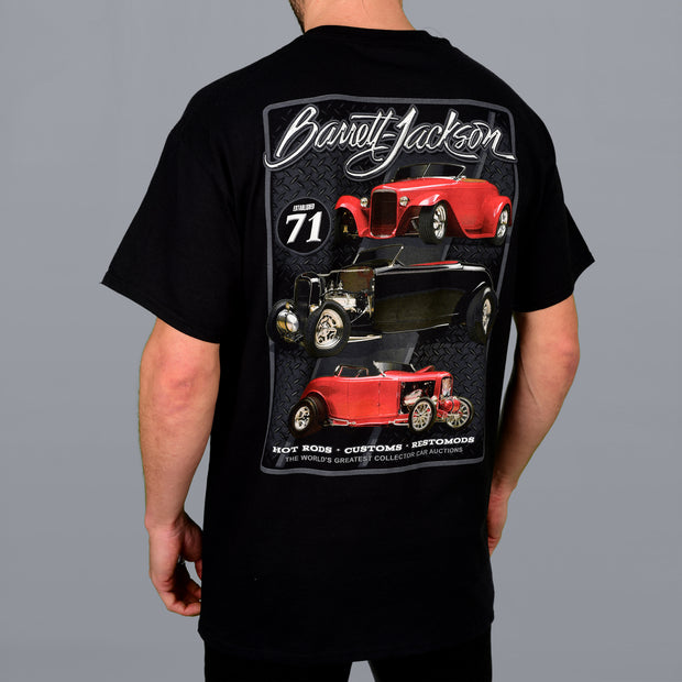 Triple Hot Rod Tee