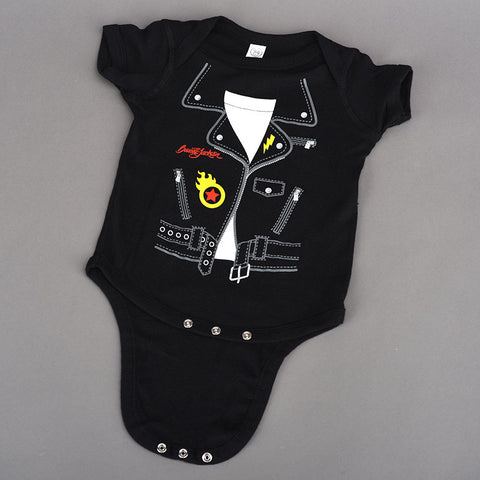 First Ride Onesie Red