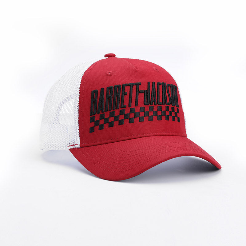 Checker Bar Hat
