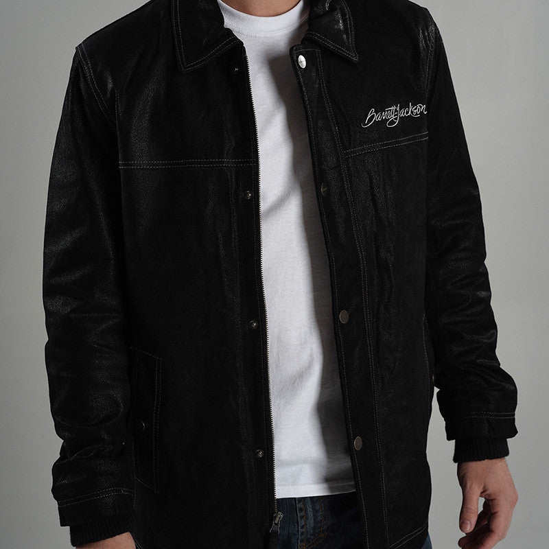 Signature Leather Jacket - Men's