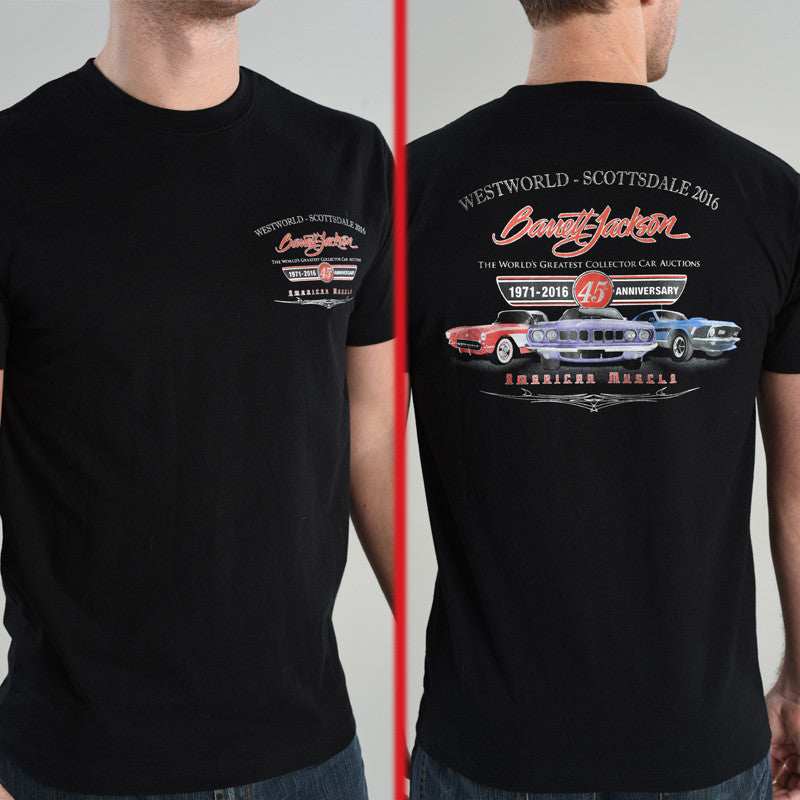 45th Anniversary American Muscle Tee - Scottsdale