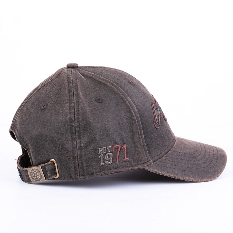 2019 Brown Waxed Hat