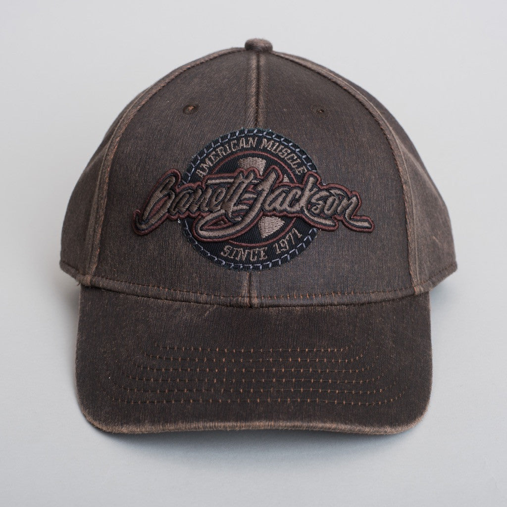 Brown Waxed Hat