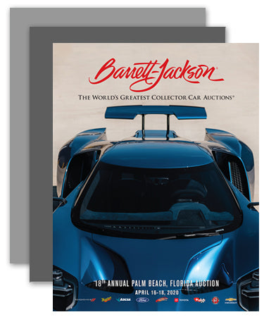 PRE-ORDER: Barrett-Jackson Palm Beach 2020 Auction Catalog