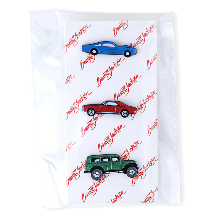 3 Car Pin Set
