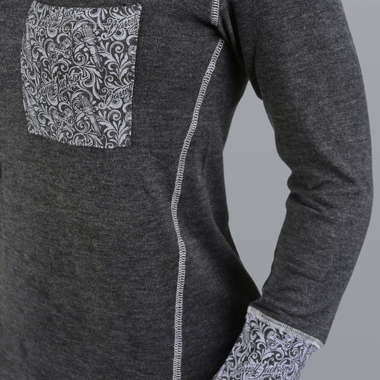 Filigree Pocket Sweater