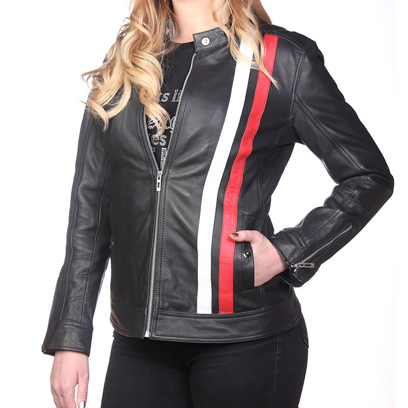 Moto Leather Jacket - Women's