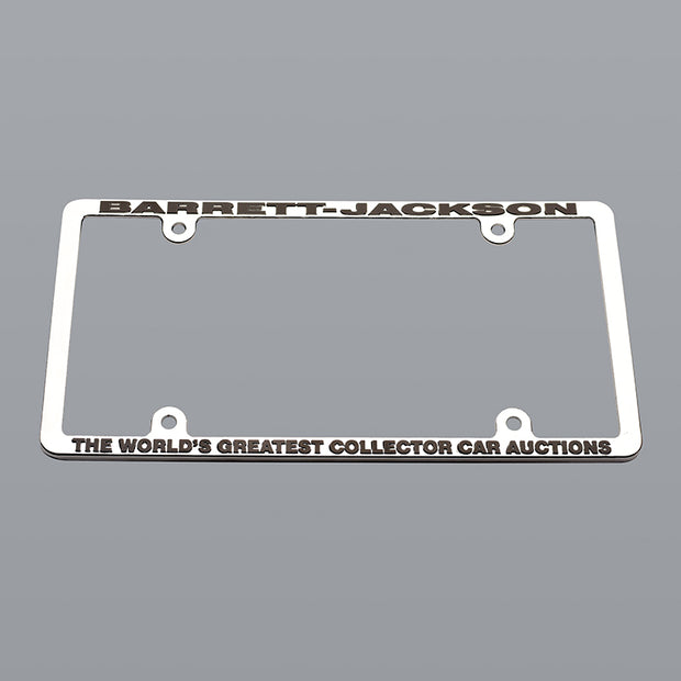 Barrett-Jackson Metal License Frame