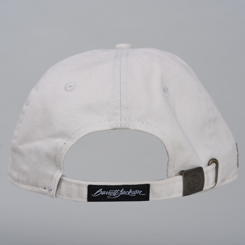 Cream Checkered Hat