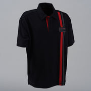 Striped Bamboo Polo