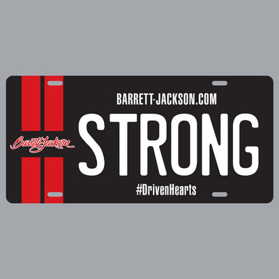 Driven Hearts Collector Plate: STRONG