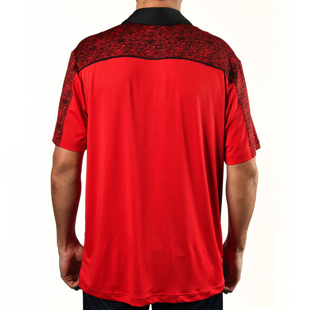 Men's Red Tiger Polo