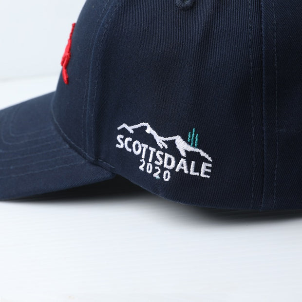 2020 Scottsdale Event Curved Bill Navy Hat
