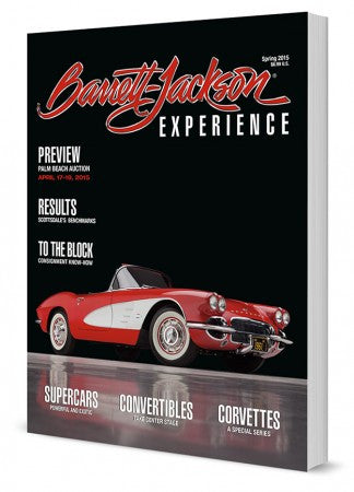 Barrett-Jackson Experience Magazine - 2015 Second Edition