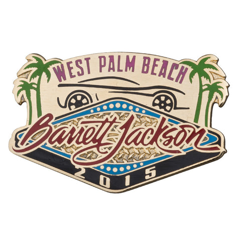 2017 Palm Beach Pin