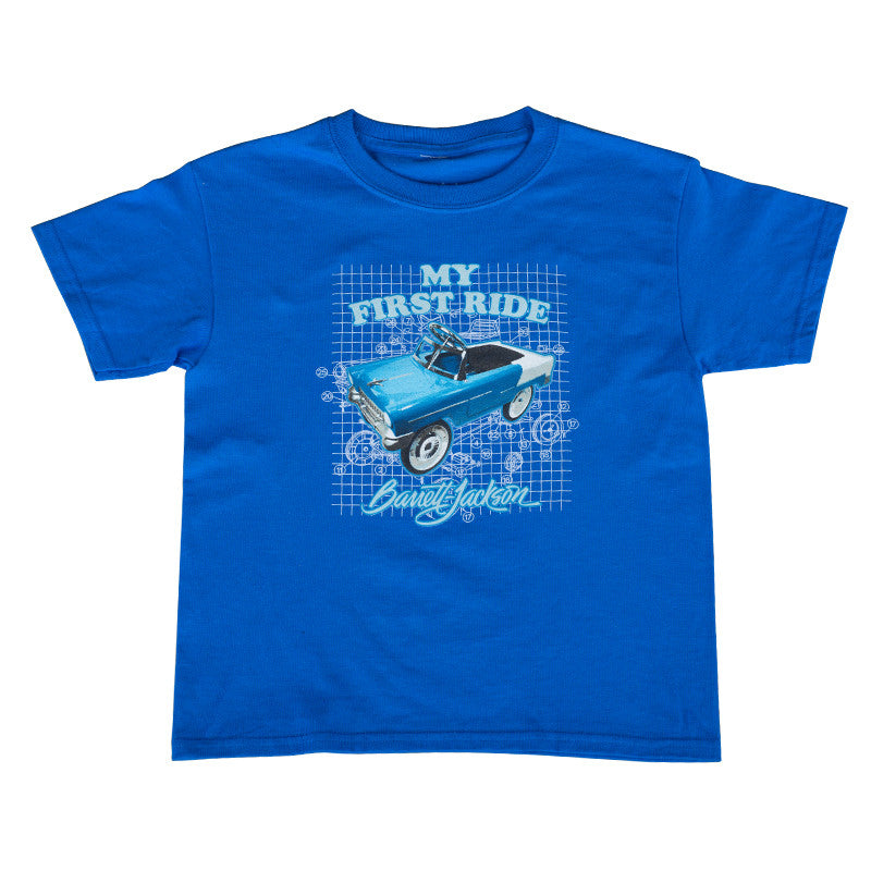 My First Ride Youth Tee - Blue