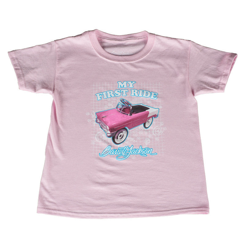 My First Ride Youth Tee - Pink