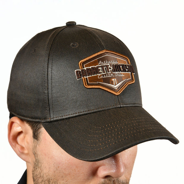 Brown Waxed 21 Hat