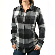Stormy Black Flannel