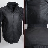 Signature Leather Bomber Jacket - Men's