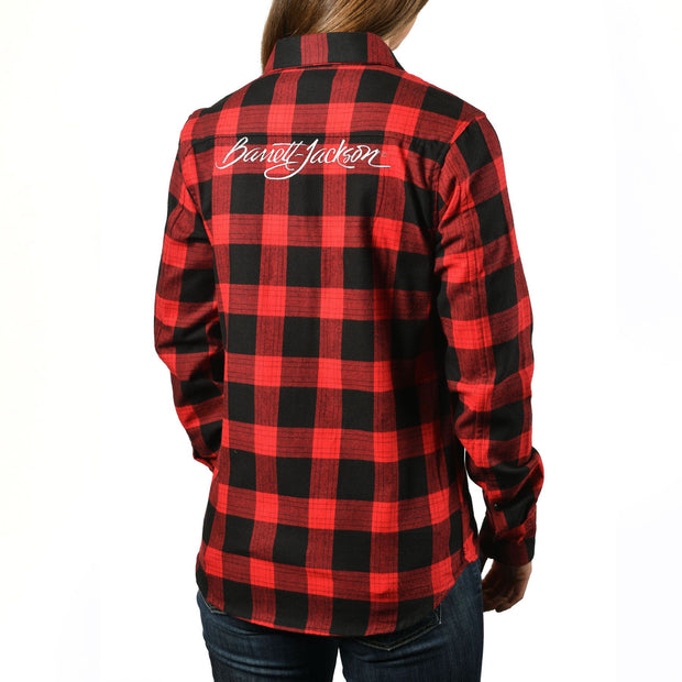 Stormy Red Flannel