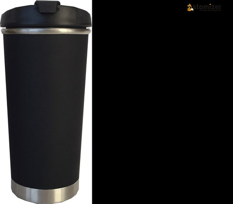 Custom Zef 10 oz. Travel Tumbler Black