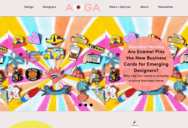 AIGA Featured Brat Box and many other designers!
